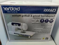 NEW Brother CS6000i 60-Stitch Computerized Sewing Machine Qu