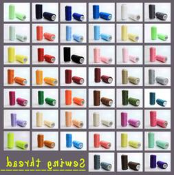 New Different colors Sewing machine line 100% polyester thre