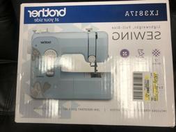 New Brother LX3817 17-Stitch Full Size Sewing Machine White
