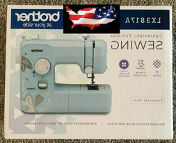 New Brother LX3817A 17-Stitch Full-size Sewing Machine Aqua