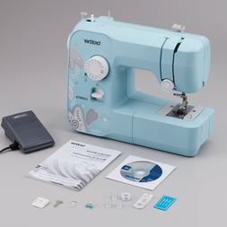 NEW Brother LX3817A Sewing Machine Aqua 17 Stitch 4 Feet Ful
