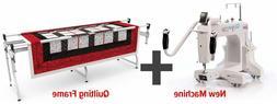 NEW - Q'nique 15M  Long Arm Quilting Machine with Grace SR2+