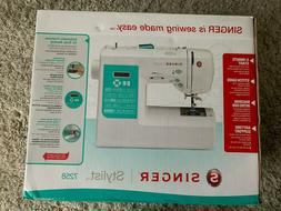 New Singer Stylist 7258 Electronic Sewing Machine IN HAND  *