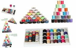 NEX Mini Sewing Thread Spools and Bobbins for Sewing Machine