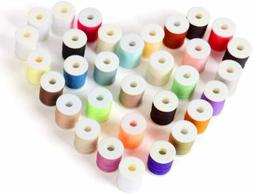NEX Sewing Thread 60pcs Mixed Colors Sewing Kit For Sewing M