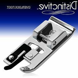 Distinctive Overlock Overcast Sewing Machine Presser Foot -