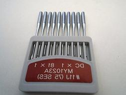 NgoSew Overlock Sewing Machines Needle DCX1 81X1 MY1023A For