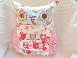"""Owl Cushion Craft Kit Large 14"""" Owl Beginners Hand Or Sewing"""