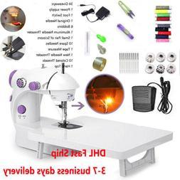 Portable Electric Sewing Machine Desktop Household Tailor LE