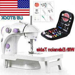 Portable Electric Sewing Machine Desktop Household Tailor LE