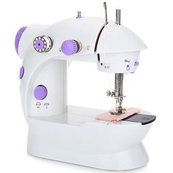 Portable Mini Automatic Travel Thread Sewing Machine Double