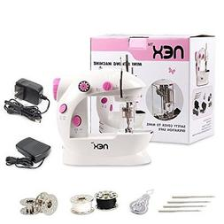 NEX Sewing Machine Sewing Craft Gift for Child, Portable Min