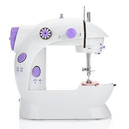 EleLight Portable Sewing Machine, Double Speed Mini Automati