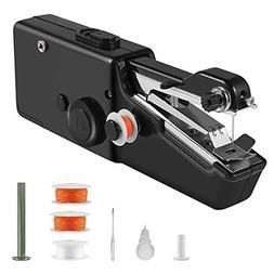 Portable Sewing Machine, Mini Cordless Handheld Electric Sew