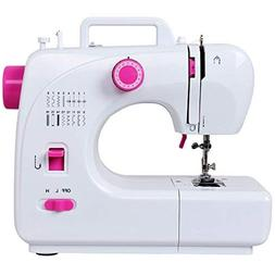 Costway Portable Sewing Machine Multifunctional 16 Built-in
