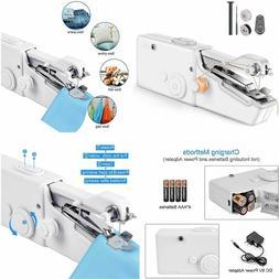 Handheld Portable Sewing Machine Quick Stitch Sew Travel Min