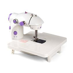 HAITRAL Portable Mini Sewing Machine with Extension Table, 2