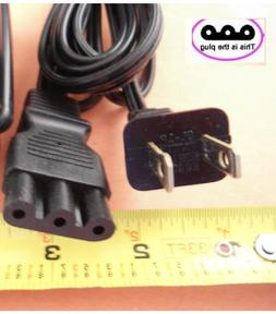 POWER LEAD CORD SMALL 3-PRONG PLUG fits JANOME NEW HOME SEWI