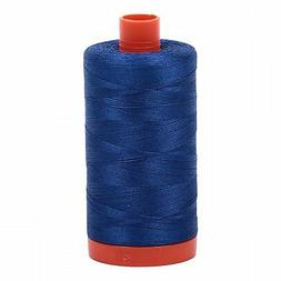AURIFIL QUILT THREAD - 50 WT - 1422 yds #2740 Dark Cobalt