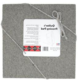 "Its Time to Quilt Quilter's Pressing Pad 14""x14"" by 100% woo"