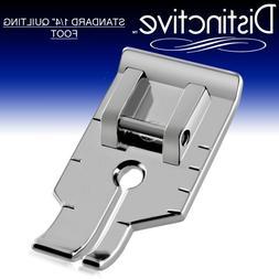 """Distinctive Standard 1-4"""" Quilting/Sewing Machine Presser"""