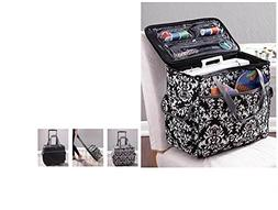 Sewing Accessories Rolling Sewing Machine Tote with 6 Storag