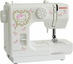 JANOME Sanrio Hello Kitty Electric Sewing Machine KT-35 Hand