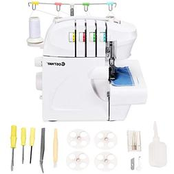 Costway Serger, Overlock Sewing Machine for professional fin