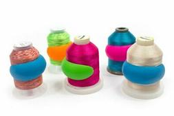 Set of 100 Embroidery/Sewing Machine Thread Spools Savers No