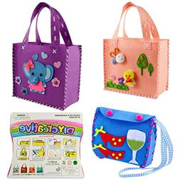 Sewing Kit for Kids Beginners 3 Assorted Design Sewing Patte
