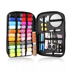 Mega Shop Sewing Kit Craft Tools Supplies 94 Pcs Bag Enhance