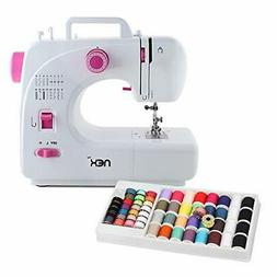 NEX Sewing Machine 16 Built-in Stitch with 60 Pcs Threads, R