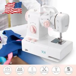 TTnight Sewing Machine Automatic Dual Speed Double Thread El