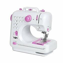 NEX Sewing Machine Children Present Portable Crafting Mendin
