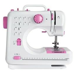 Sewing Machine Free-Arm Crafting Mending Machine with 12 Bui