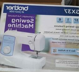 Brother Sewing Machine GX37 37 Built-in Stitches -New In Han