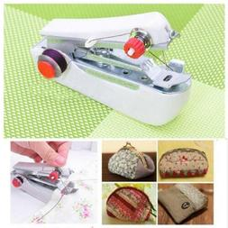 Small Portable Hand Held Sewing Machine Cordless Clothes Out
