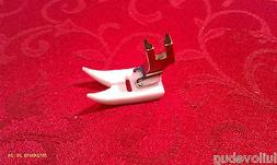 Sewing Machine Leather Teflon Foot  Non stick low shank  Sin
