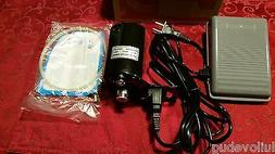 Sewing Machine Motor & Electronic Pedal Set 1.5 amp Fits Sin