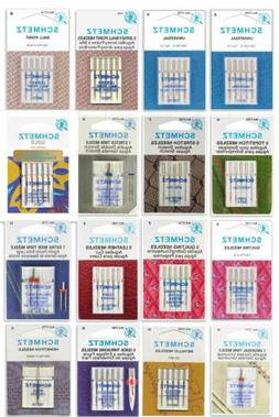 Schmetz Sewing Machine Needles, Choose from 92 Types/Sizes -