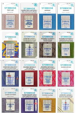 Schmetz Sewing Machine Needles , FREE SHIP & BUY Two Get One