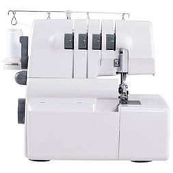 COSTWAY Sewing Machine Portable Multifunctional 2 Needle 4 T