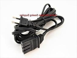 Brother Sewing machine Power Cord Fit Many Models VX, Xl, XR
