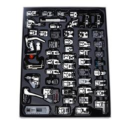 Aiskaer Professional 52pcs Sewing Machine Presser Feet Set f