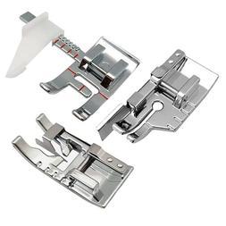 Sewing Machine Presser Foot Set-1/4 Inch Quilting Foot/Adjus