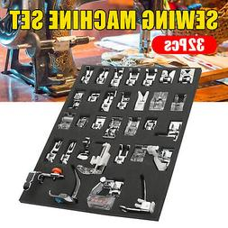 Sewing Machine Presser Foot Tool Kit Set For Brother Singer