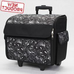 Sewing Machine Storage Bag Tote Case Rolling w/ Wheels Sew C