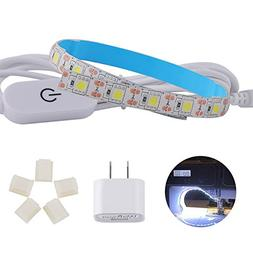 "Wizpower Sewing Machine LED Strip Light, 11.87"" Cold White L"