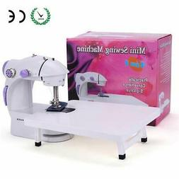 BAITENG Sewing Machine with Extension Table + Light + 4 Bobb