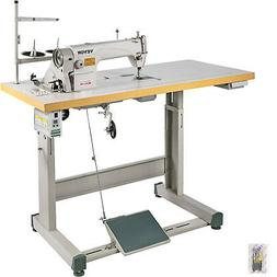 DDL-8700 Sewing Machine with Table+Servo Motor+Stand Industr